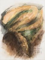 종이에 드로잉 drawing on paper 23 x 30 cm.