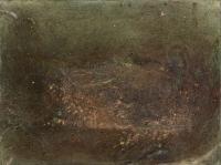 혼합재료 mixed media, 30 x 23 cm.